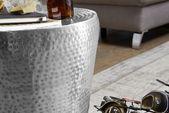 #Nachttisch #Wohnzimmer #Dekoration #Aluminium #Wohnidee    – dekoration-silber …