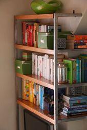 Kleine Räume DIY Schreibtisch – #DIY #small #room # desk