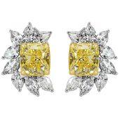 Mark Broumand – 8.82 Carat Radiant Marquise Cut Modern Diamond 18K Gold, White Gold, Yellow Gold
