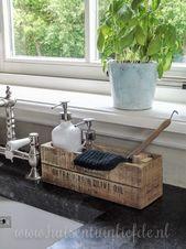 32+ innovative Küchenarbeitsplatten organisieren Ideen, um Ihren Raum sauber zu halten
