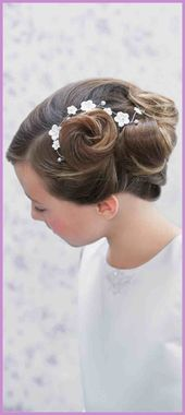 Communion hairstyles that create beautiful memories: Communion hairstyles that create beautiful memories #The #Reminders #Hairstyles # for …