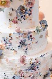 Einer der wichtigsten Akzente Ihres wundervollen Hochzeitstages ist die Hochzeitstorte! ICH…   – Kuchen Liebe