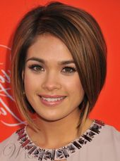 Lovely Short Bob Straight Human Hair Lace Front Cap Wig 10 Inches