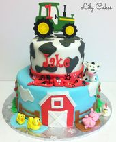 23+ Creative Picture of Farm Birthday Cake   – Birthday Cake Pictures