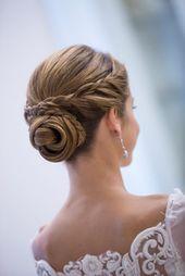 Hochzeitsfrisur: 24 Frisurideen für die Braut – #braut #FrisurenfürdieBraut #f… – Frisuren
