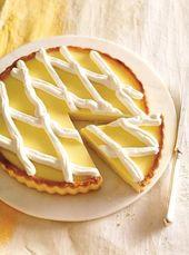 Tarte au citron sans oeufs – #au #citron #oeufs #sans #tarte – Gâteaux