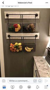 24 kleine Küchendekorationsideen mit kleinem Budget zur Maximierung des vorhandenen Raums 06   – wohnideen