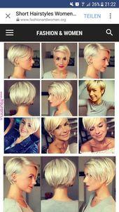 Short cut woman