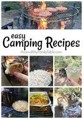 Recettes de camping simples   – Campen
