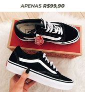 CLICK TO BUY – Tennis Vans old Skol for only R $ 99.90