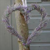 Lavendel Deko Türkranz binden den Herbst selbst   – Kränze