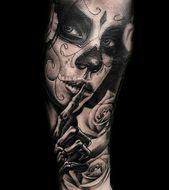 Tattoos by Tattoo Artist Pied Lui – #artist #bandana #Lui #Pied #Tattoo #Tattoos