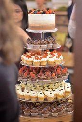42 Schokoladenhochzeits-Cupcake-Ideen, die Sie sehen müssen   – vow renewal