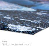 Wandbild – Bob Gibbons »Mohn, Kornblume und Weizen«