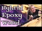 How to build a hybrid epoxy wooden table YouTube  – haır  – epoxy ideas  – Epoxy crafts  – Creative Epoxy