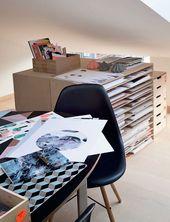Illustrator Workspace The home of illustrator Nynne Rosenvinge - via Coco Lapine Design