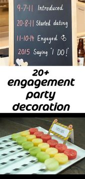 20+ engagement party decoration ideas 6