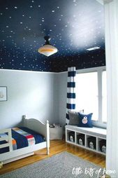 Star Wars thematische Wandtattoos – Weiße Sterntattoos – Little Bits of Home Star Wars Schlafzimmer enthüllen – Little Bits of Home – Samantha's Stars   – Air