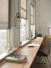 Praxis | Plisségordijnen – #indoordesign # Plissee …