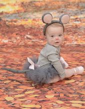 Mouse Outfit, Halloween Mouse Costume, Grey Mouse Tutu , Grey Mouse Halloween Tutu, Grey Mouse Ears, Gray Mouse Tail, Halloween Costume