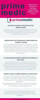 Online Doctors In Australia Prime Medic Online Doctor Medical Doctor In