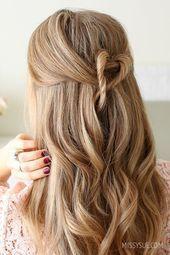 Locken Frisuren Halblang Honigfarbene Haare Halboffene Frisur Fur Den Alltag Alltag Den Frisur Frisure Honey Hair Color Hair Styles Open Hairstyles