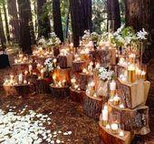 Im Ernst, gehen Sie alle mit Kerzen aus. | 31 Hochzeitsideen für den schönen Herbst …   – The big day