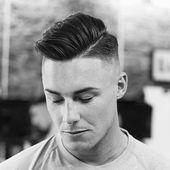 Welche Seite sollte ich mein Haar teilen? – Cool haircuts for men