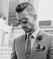 40 Hard Part Haircuts For Men - Sharp Straight Line Art
