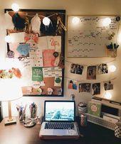 65 süße Wohnheimzimmer Dekorieren Ideen mit kleinem Budget