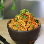 Recette du riz au poulet ou one pot hen rice                                …