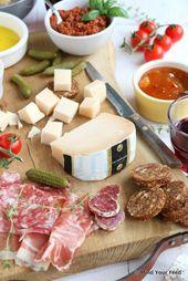 Italiaanse borrelplank – antipasti