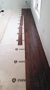 Do It Yourself Floating Laminate Floor Installation Floor Installation Diy Flooring House Flooring