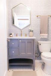 Vorher Nachher Ein Haus Im Spanischen Stil Wird In Wahrer La Mode Neu Interpretiert Nailsart Fashio In 2020 Diy Bathroom Design Modern Bathroom Decor Small Bathroom