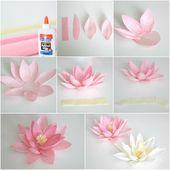 ▷ 1001 + tutos et idées high remark faire une fleur en papier soi-même