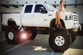 19 Sensuous Ladies And The Truck They Love  #truck #truckgirl #truckgirls #truckChic #truckLadies