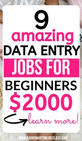 10 Best Data Entry Jobs From Home