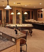 65 Rooms With A Pool Table Man Caves Included Recessed Ceiling