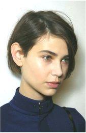 15+ Kurze Haarschnittbilder für glattes Haar #shorthairstyles #frisuren #fr #gl… –  – 15+ Kurze Haarschnittbilder für glattes Haar