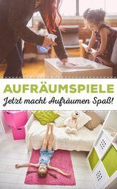 Aufräumspiele: So macht Aufräumen Spaß! | familie.de – Kinderzimmer Ideen – einrichten und Deko
