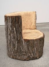 Turn stumps and logs into unique chairs / stools   – baumhaus