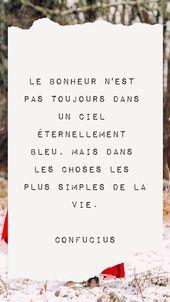 Une quotation inspirante sur le bonheur #quotation #bonheur #quote