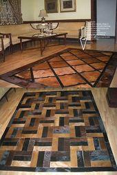 Real Leather Rugs Carpets Ebay Leather Rug Rugs On Carpet Rugs Australia