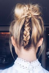 97 Awesome French Braided Hairstyles for Long Hair 2019
