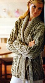 Knitting pattern ladies chunky aran cardigan coat jacket one top 10 free aran jumper knitting patterns for women dt1010fo