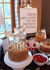 My Favorite Things 90th Birthday Party Theme