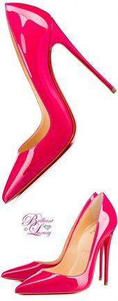 Brillanter Luxus von Emmy DE ♦ Christian Louboutin 'So Kate' pumpt #ChristianLo …