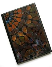 Damien Hirst A5 (22x15cm) hardback notebook made with genuine butterfly print wallpaper.