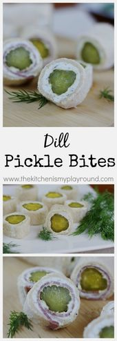 The crunch and zing of dill pickles in a tasty little appetizer-sized bite. They…