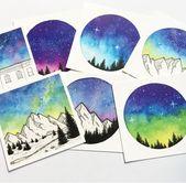 Lieben Sie alle diese! #Galaxie #Landschaft #Berge #Natur